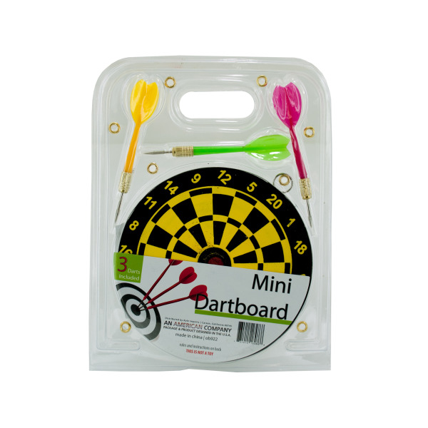 Mini Dartboard Set (Pack Of 12)