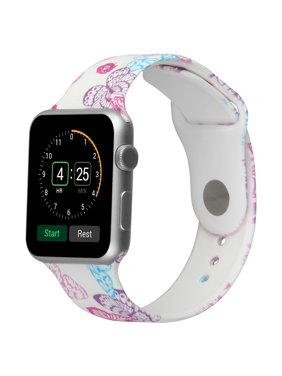 Product Image Soft Printed Fashion Silicone Sport Replacement Bands for Apple Watch Series 1, Series 2,