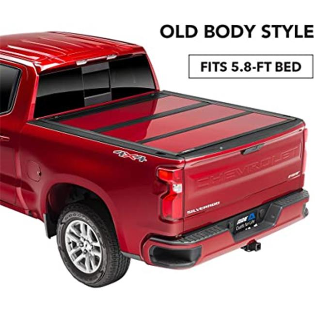 Are Truck R12018lgn 5 8 Ft Fusion Painted Hard Truck Bed Cover For 2014 2019 Gm Silverado Walmart Canada