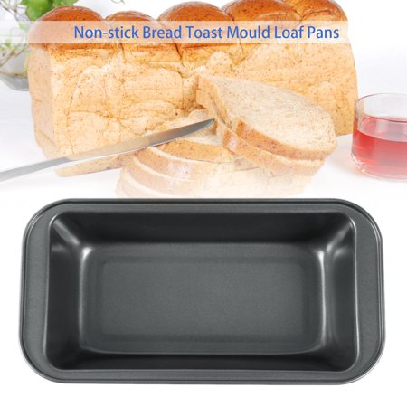 Carbon Steel Baking Pan  Cake Mold Rectangle Non Stick Bread Toast Mould Loaf  Baking Pans