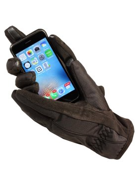 Women's Isotoner A21542 ThermaFlex Smart Touch Glove Black Large / XL