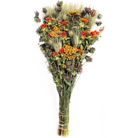 Large Dried Fantastic Flower Bouquet Length 23-26 inches Single (Dried Bouquet)
