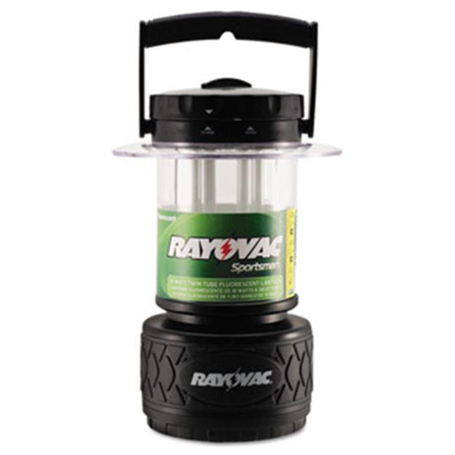 Ray-O-Vac SP8DTP4 Lantern, Fluorescent Bulb, Black
