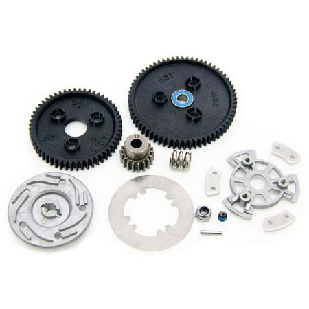 Traxxas 1/10 E-Revo Brushless Spur Gear & Slipper Clutch (Traxxas Rc Motor Brushless)