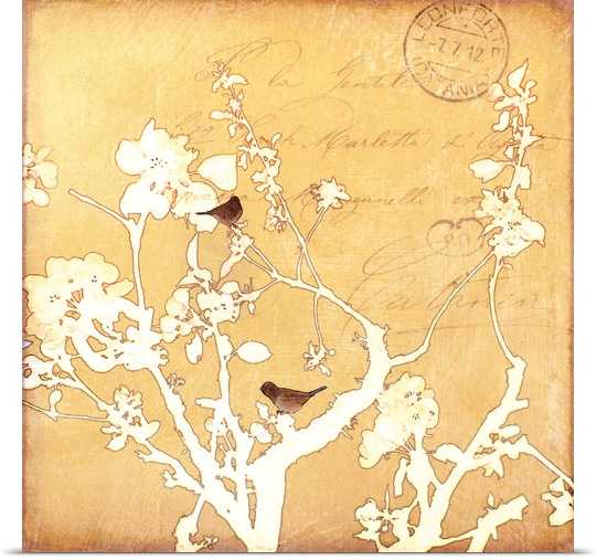 Great BIG Canvas | Rolled Amy Melious Poster Print entitled Song Birds VI mini