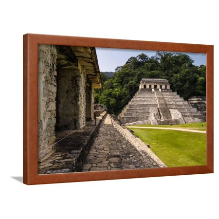 Mayan Ruins in Palenque, Chiapas, Mexico. it is One of the Best Preserved Sites, Which Contains Int Framed Print Wall Art By