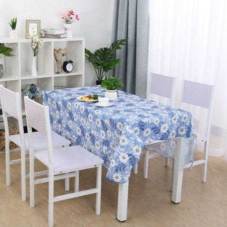 Pink Vinyl Tablecloth (Vinyl Tablecloth Rectangle 54
