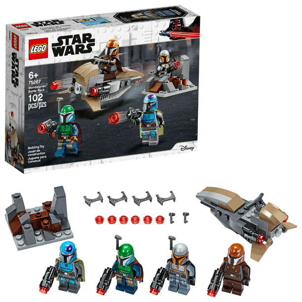 LEGO Star Wars Mandalorian Battle Pack 75267 Shock Troopers and Speeder Bike Building Kit (102 Pieces) - Walmart.com - Walmart.com