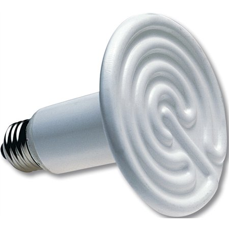Rite Farm Products 250W White Ceramic Heat Emitter Brooder Infrared Lamp Bulb 250w Br40 Heat Lamp