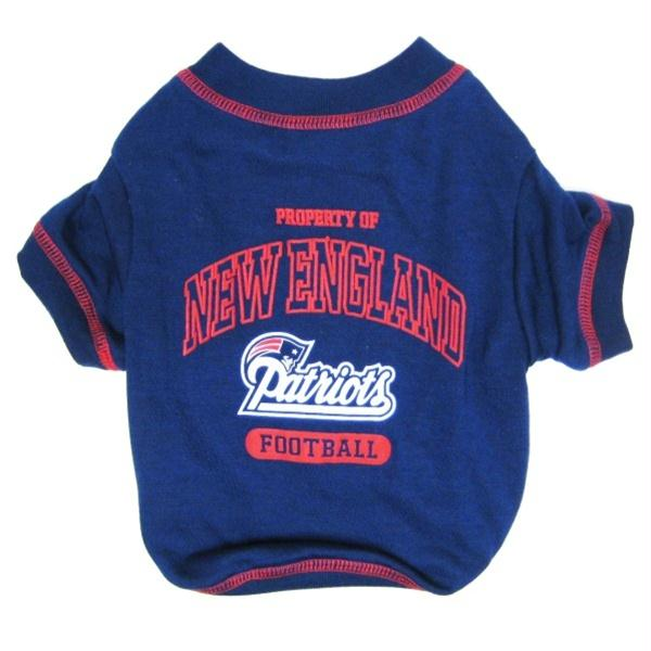 New England Patriots Dog T-Shirt - X-Small
