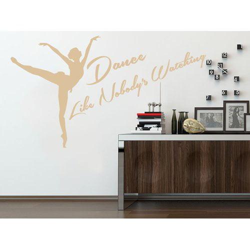 Harriet Bee Dever Dance Like Nobody's Watching Studio Dancer Dancing Wall Decal