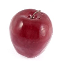 Unique Bargains Artificial Fruit Apples Red Delicious Apple 78mm Dia for Christmas