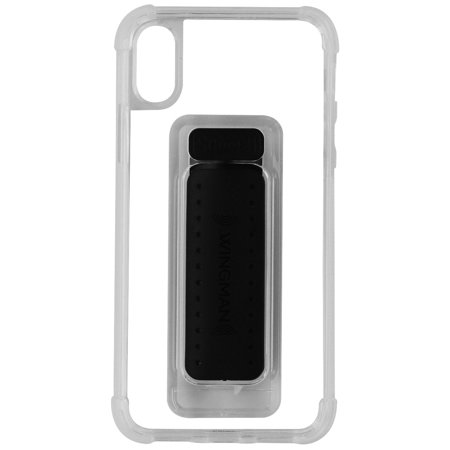 promo code 137b9 61ec0 Scooch Wingman Series 5-in-1 Hybrid Case Cover for Apple iPhone X (10) -  Clear (Refurbished)