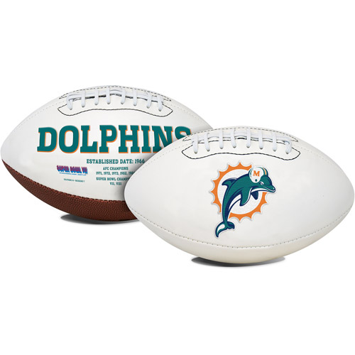 Rawlings Signature Series Full-Size Football, Miami Dolphins