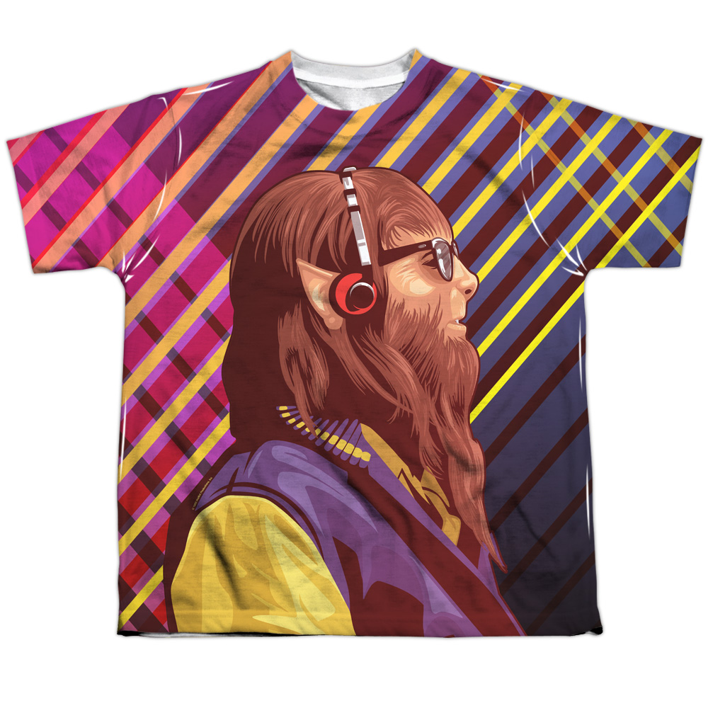 Teen Wolf Wolf Rays (Front Back Print) Big Boys Sublimation Shirt