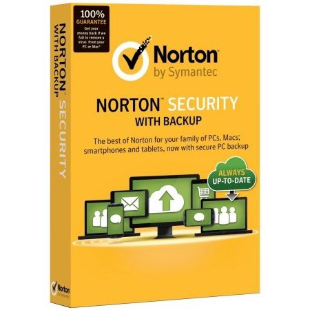 Symantec 21332674 Norton Security With Backup 2 0 25Gb En 1 User 10 Devices Card Mm