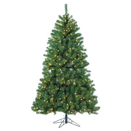 7 Ft  Montana Pine Led Pre Lit Full Christmas Tree By Sterling Tree Company