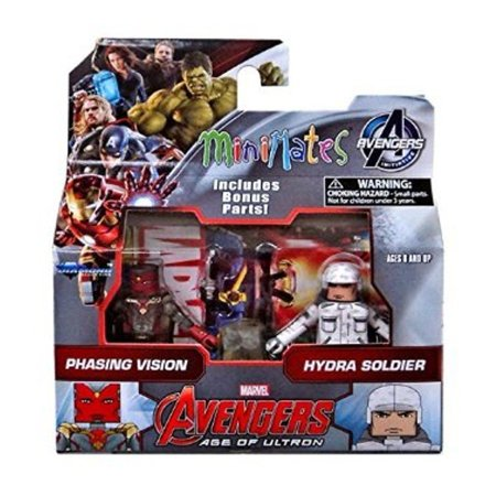 Marvel Avengers Minimates Series 63 VARIANT Phasing Vision & Hydra Soldier 2