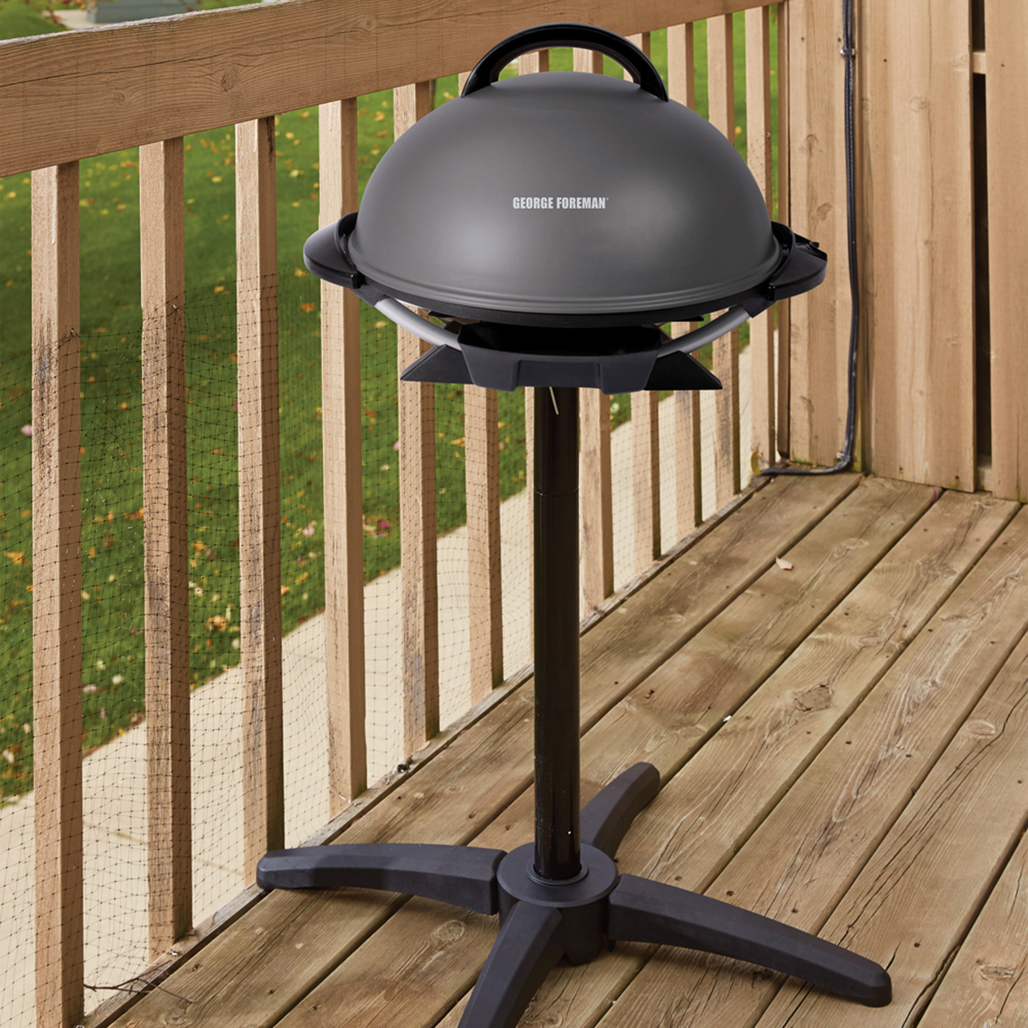 Walmart Electric Grills Outdoor ~ George foreman quot indoor outdoor electric grill non