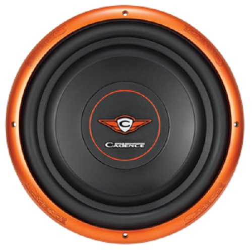 Cadence SLW10S2 10-inch Single 2-Ohm Slim Mount Series Car Subwoofer