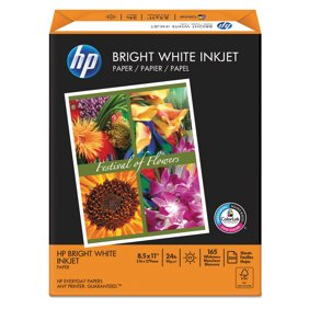 International paper premium choice laser paper white 500 ream hp bright white inkjet paper 97 brightness 24lb 8 12 x 11 50 malvernweather Image collections