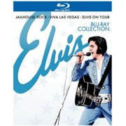 Elvis Blu-ray Collection: Jailhouse Rock   Viva Las Vegas   Elvis On Tour (Blu-ray) (Widescreen) by TIME WARNER