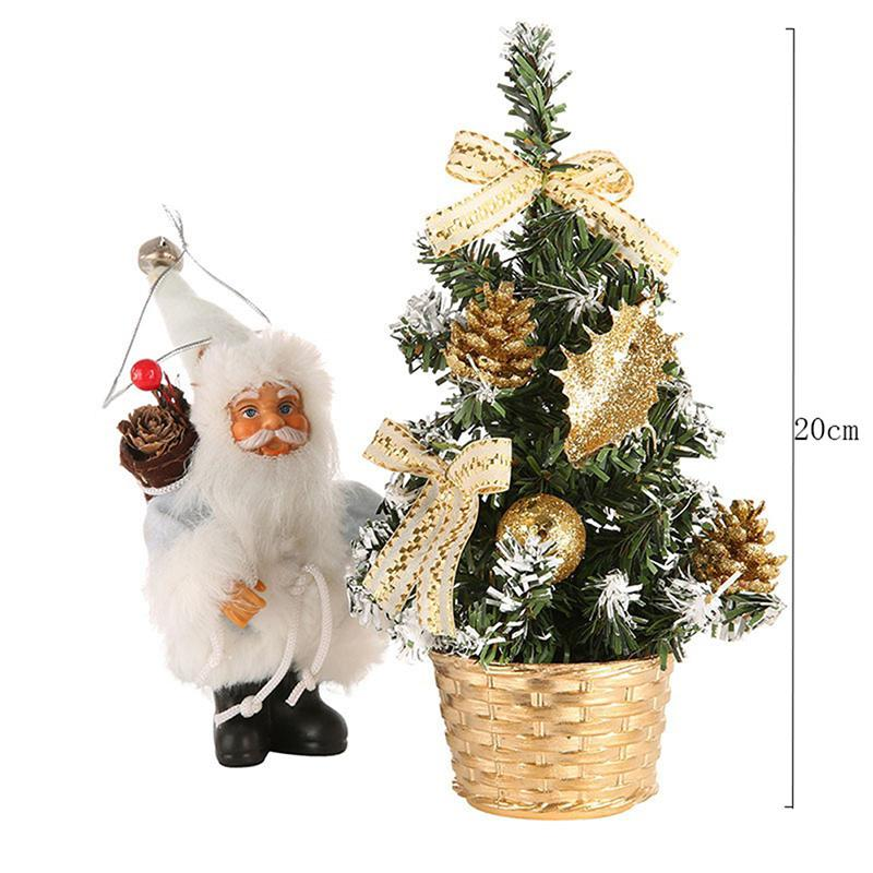 Details about  /2020 Christmas Tree Colorful LED Decoration SantaClaus X/'mas Night Gift Kids Toy