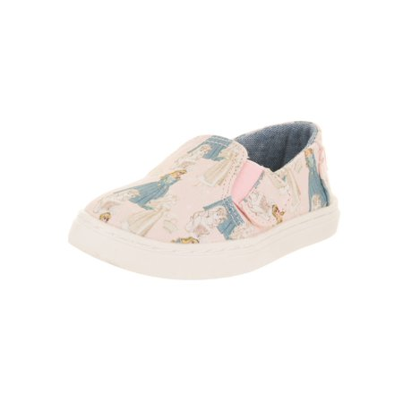 9b2cdf75c1b Toms Toddlers Luca Sleeping Beauty Slip-On Shoe - Walmart.com