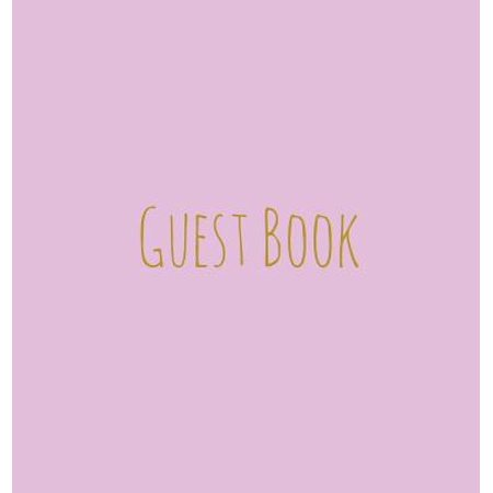 Wishing Well For Wedding (Wedding Guest Book, Bride and Groom, Special Occasion, Comments, Gifts, Well Wish's, Wedding Signing Book, Pink and Gold)