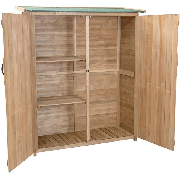 64 Wooden Storage Shed Outdoor Fir
