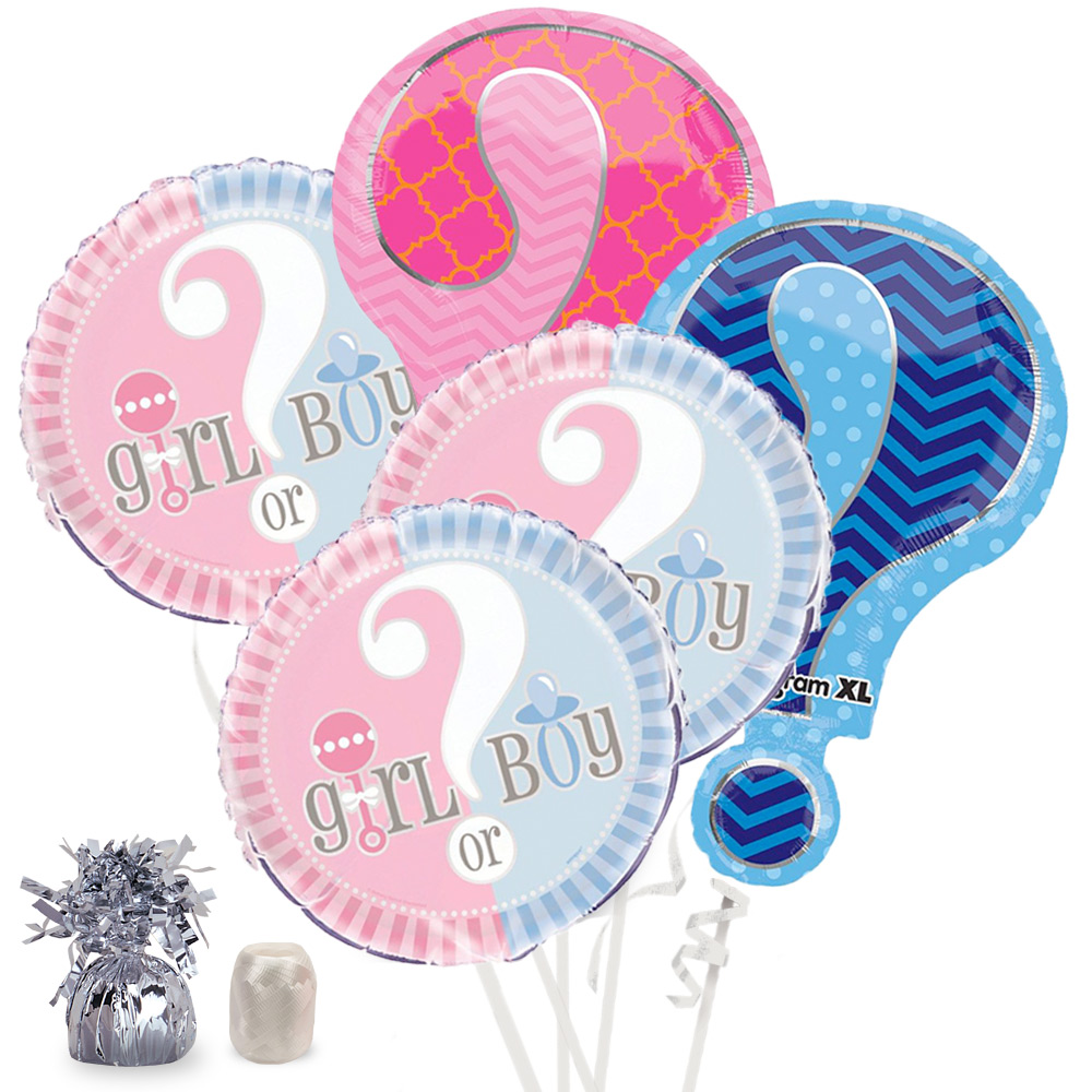 Gender Reveal Balloon Kit (Each) - Baby Shower Party Supplies