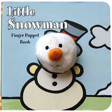 Little Snowman: Finger Puppet Book (Little Shop Of Horrors Audrey 2 Puppet)
