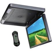 Tview T173DVFD-BK Car Monitor DVD Player-Set of (Black)