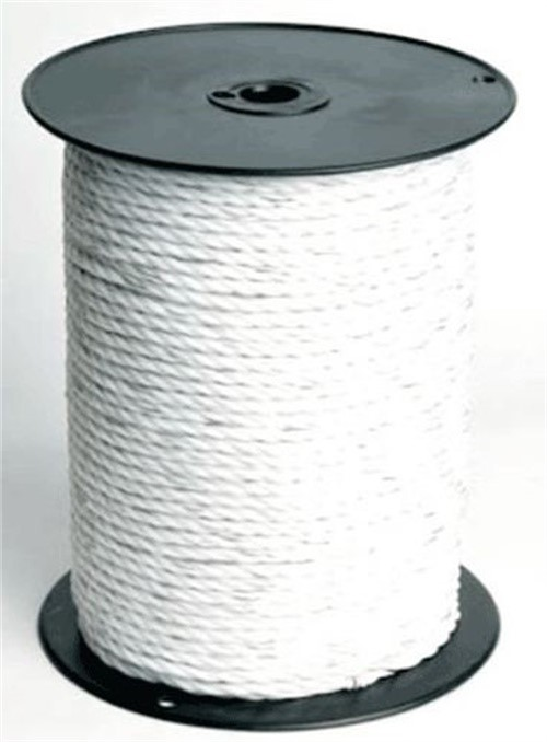 x 600 in L White  Twisted  Poly  Rope Dia Dare Products  6 in