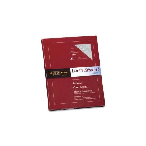 southworth company resume paper linen 32 lb 8 1 2x11
