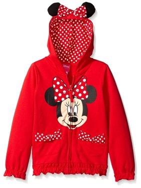 FREEZE Little Girls' Minnie Polka-Dot Bow Toddler Hoodie