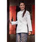 0490-2504 Sedona Chef Coat in White - Large