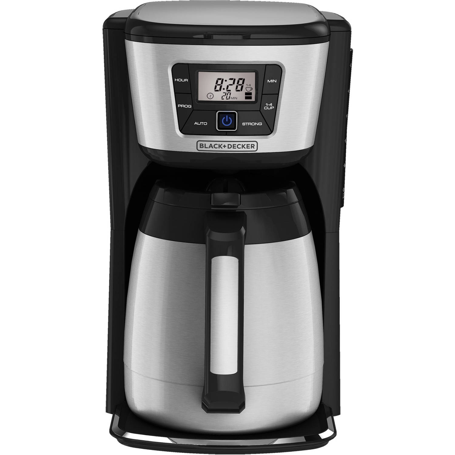 Black & Decker 12-Cup Programmable Coffee Maker with Thermal Carafe