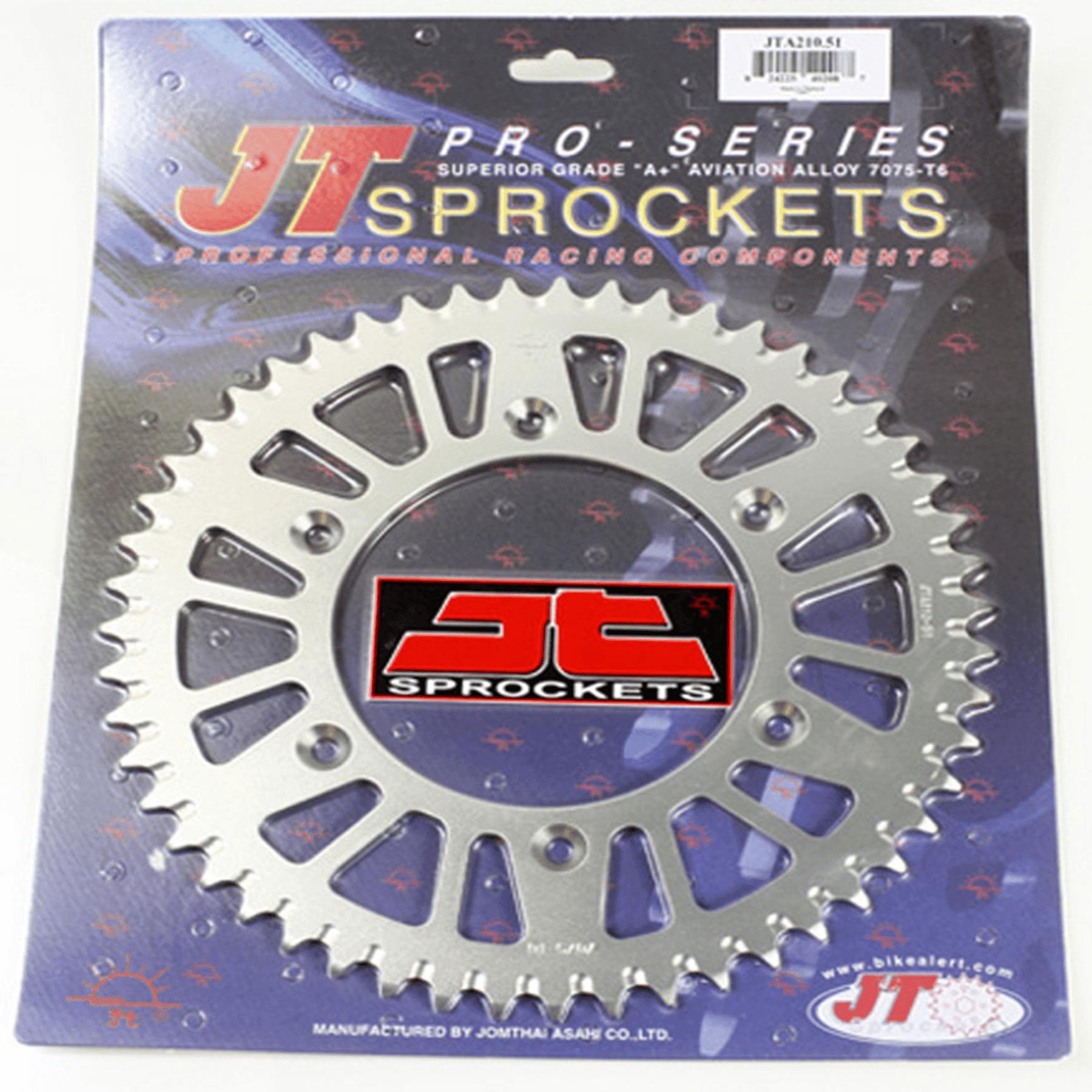 JT REAR ALLOY SPROCKET (JTA210), 51 TOOTH
