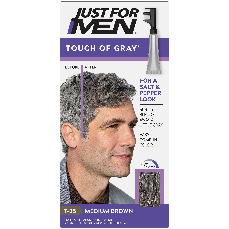 Dye mens grey hair Silver Hair