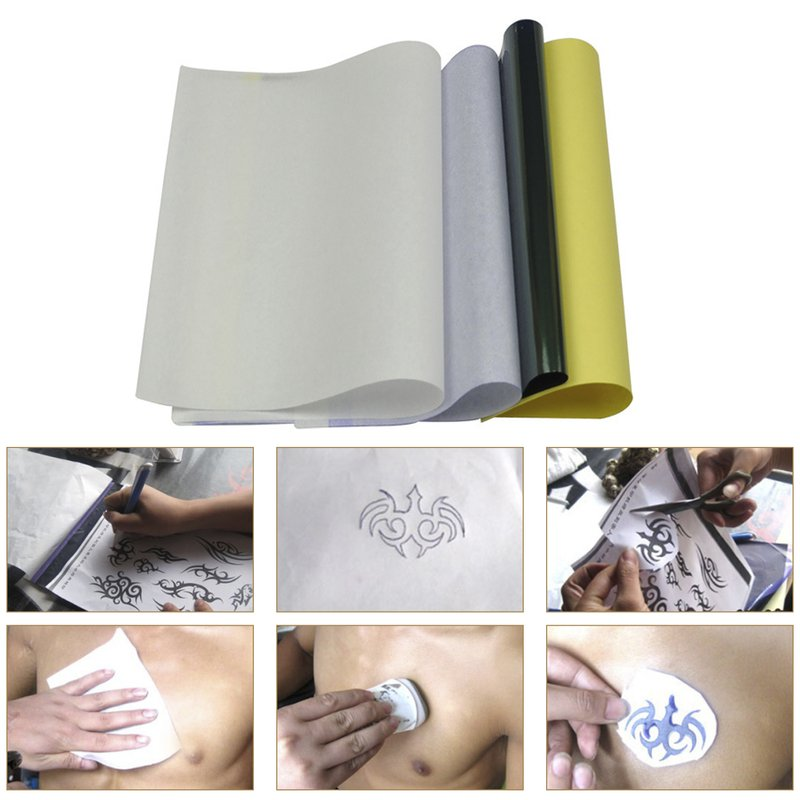Tattoo Transfer Paper,New Star Tattoo Stencil Paper 20 Sheets Stencil Paper for Tattooing
