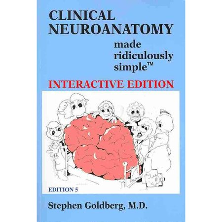 Clinical Neuroanatomy Made Ridiculously Simple Interactive Ed