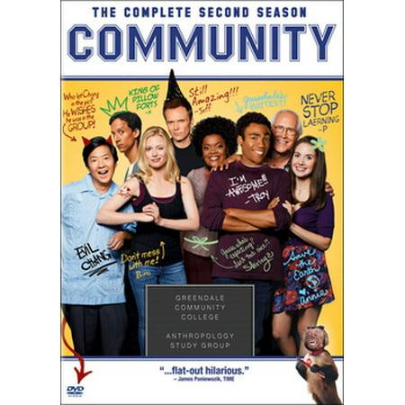 Community: The Complete Second Season (DVD)](Community Halloween Season 1)