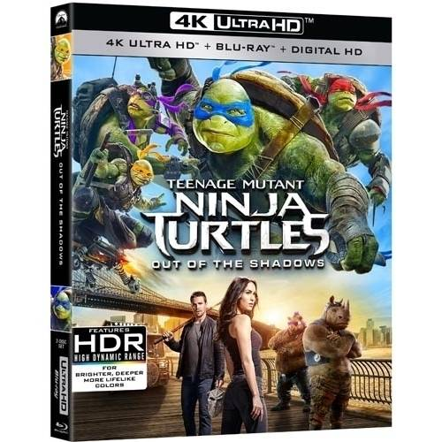 Teenage Mutant Ninja Turtles: Out Of The Shadows (4K Ultra HD + Blu-ray + Digital HD)