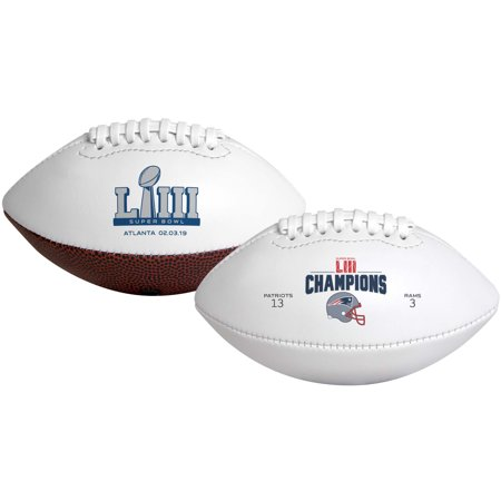New England Patriots Super Bowl LIII Champions Youth Football - No Size