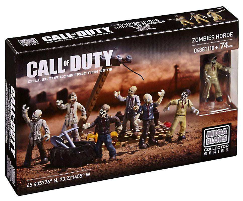 Call of Duty Zombies Horde Set Mega Bloks 06881 by Mattel