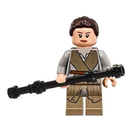 LEGO Star Wars The Force Awakens Rey Minifigure [with Staff] [No
