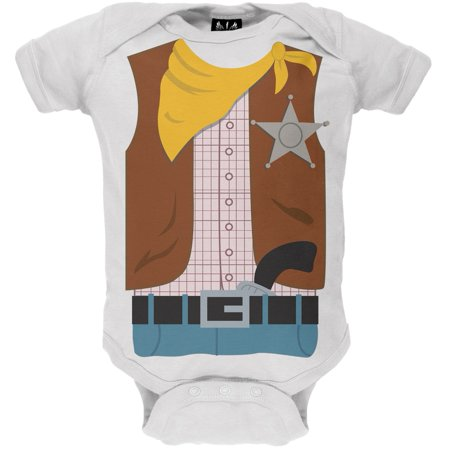 Halloween Cowboy Costume Baby One Piece](Be A Baby For Halloween)
