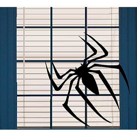 HALLOWEEN DECOR ~ Scary Spider ~ HALLOWEEN: WALL OR WINDOW DECAL, 10