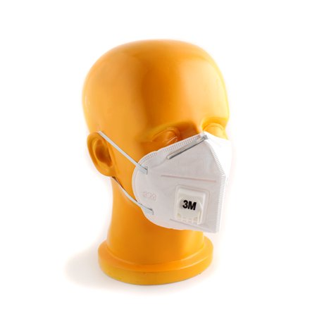 5pcs New 3M 9001V Half Face Haze Protective Mask Anti-Dust PM2.5/KN90 + Buckle